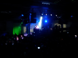 Shitty Photo of Octave One @ Made in Detroit underground stage